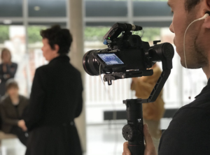 Nicolas en tournage
